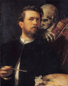 Bocklin self portrait