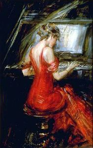 giovanni boldini_the woman in red