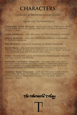 glossary & pronunciation guide_oneiroi_characters outerworld
