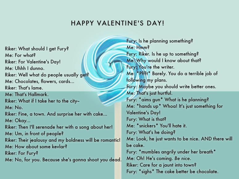 Valentine's Funny_Alarum_Riker Fury