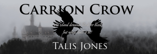 Carrion Crow Promo Bookmark front