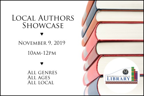 local author showcase