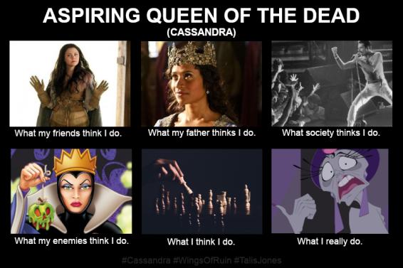 Aspiring Queen of the Dead_Cassandra_Wings of Ruin