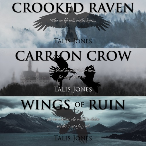Otherworld Trilogy banners